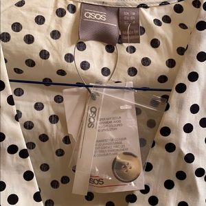 ASOS Dresses - ASOS Polkadot Skater Dress NWT